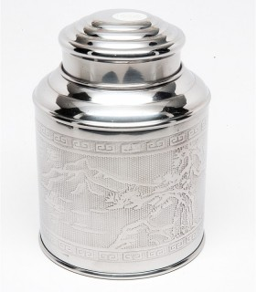 Stainless Steel Tin, 100g
